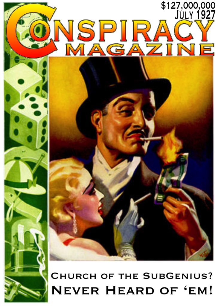 Conspiracy Magazine, July 1927